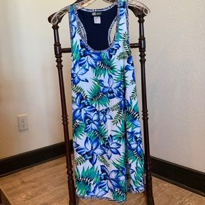 Coco Reef Floral Swimsuit  Cover Up